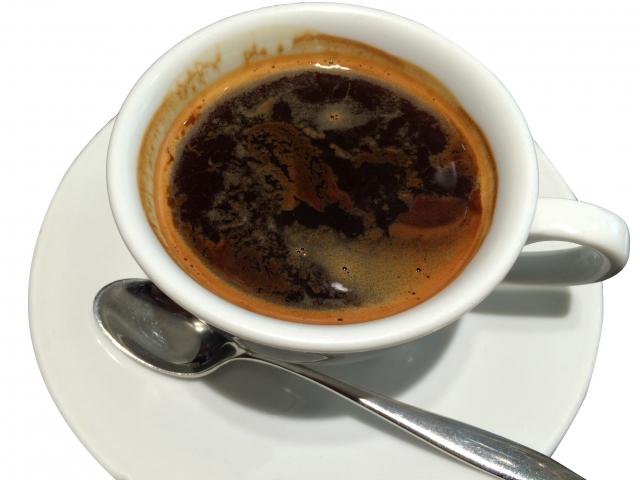 べが覚めるブラックコーヒー